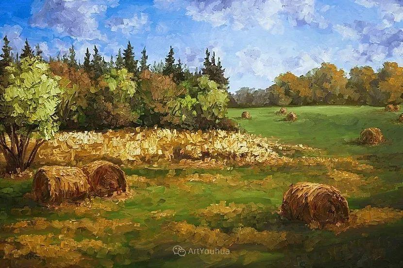 令人沉醉,唯美壮丽印象派风景油画,加拿大画家Joe Reimer插图29