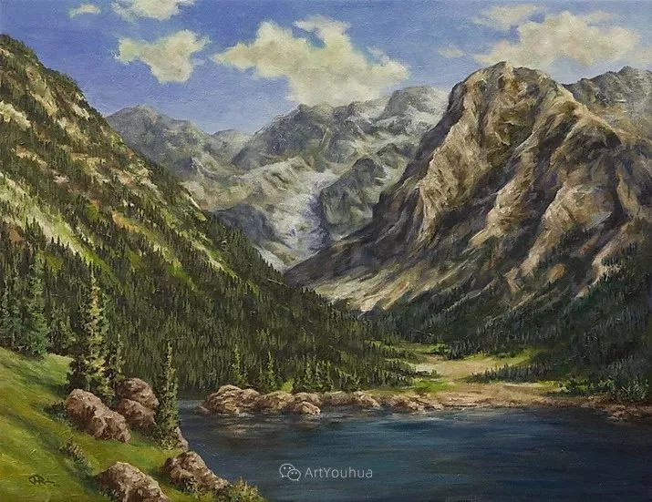 令人沉醉,唯美壮丽印象派风景油画,加拿大画家Joe Reimer插图61