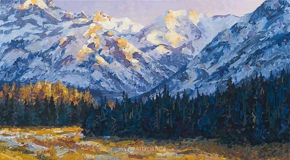 令人沉醉,唯美壮丽印象派风景油画,加拿大画家Joe Reimer插图63