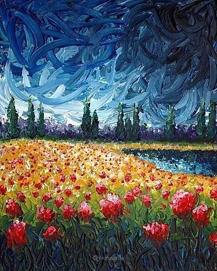 令人沉醉,唯美壮丽印象派风景油画,加拿大画家Joe Reimer插图65