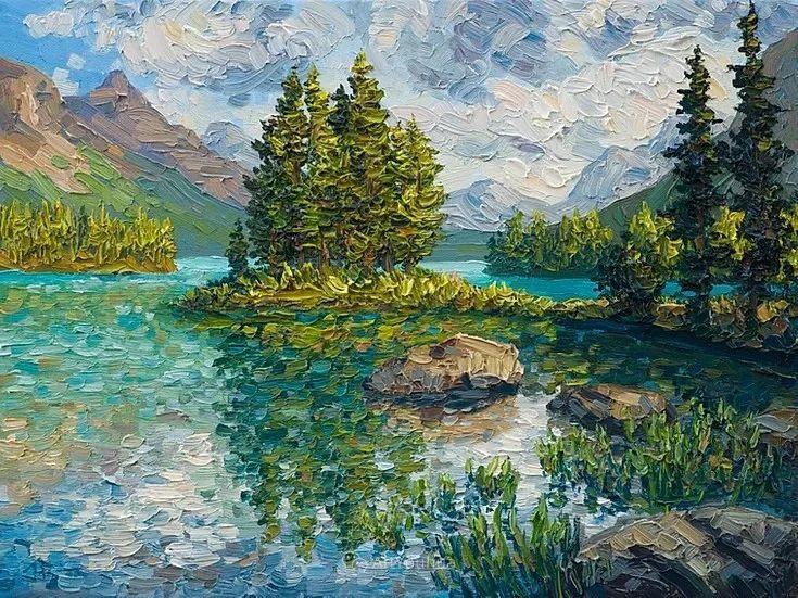 令人沉醉,唯美壮丽印象派风景油画,加拿大画家Joe Reimer插图67