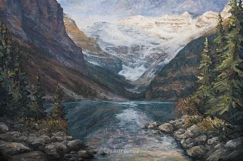 令人沉醉,唯美壮丽印象派风景油画,加拿大画家Joe Reimer插图34