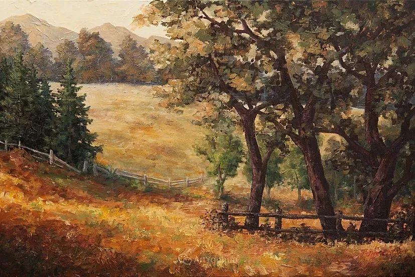 令人沉醉,唯美壮丽印象派风景油画,加拿大画家Joe Reimer插图71