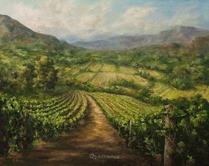 令人沉醉,唯美壮丽印象派风景油画,加拿大画家Joe Reimer插图73
