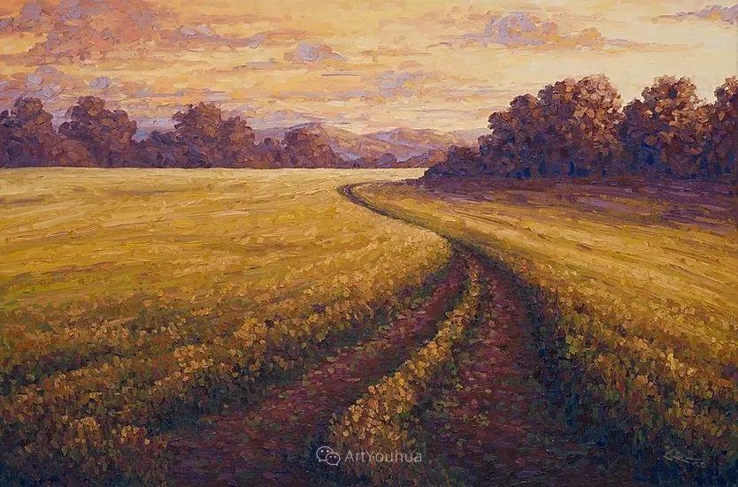 令人沉醉,唯美壮丽印象派风景油画,加拿大画家Joe Reimer插图77