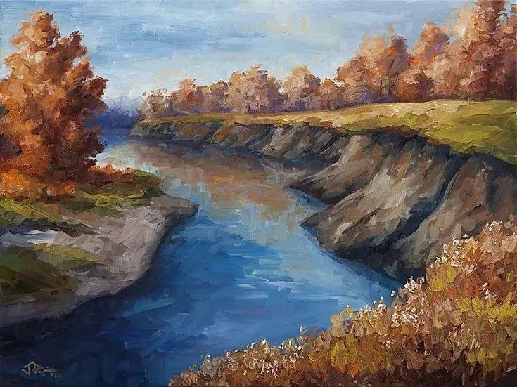 令人沉醉,唯美壮丽印象派风景油画,加拿大画家Joe Reimer插图42