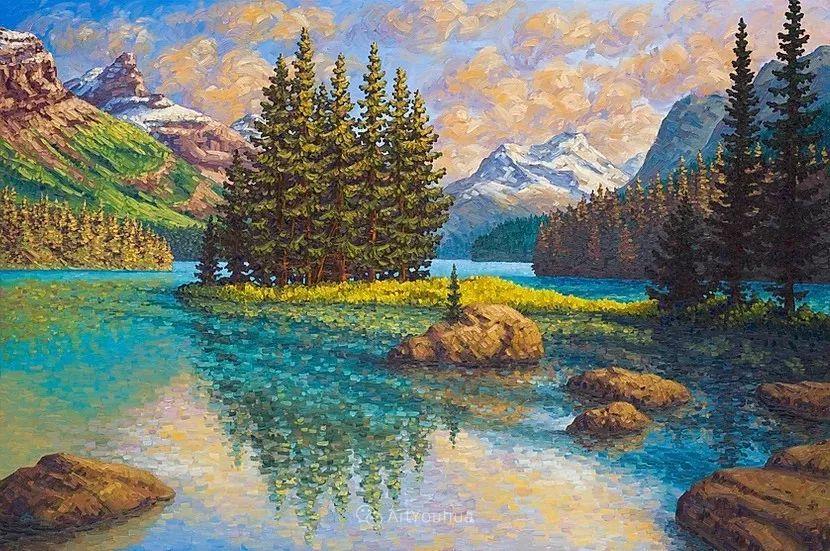 令人沉醉,唯美壮丽印象派风景油画,加拿大画家Joe Reimer插图87