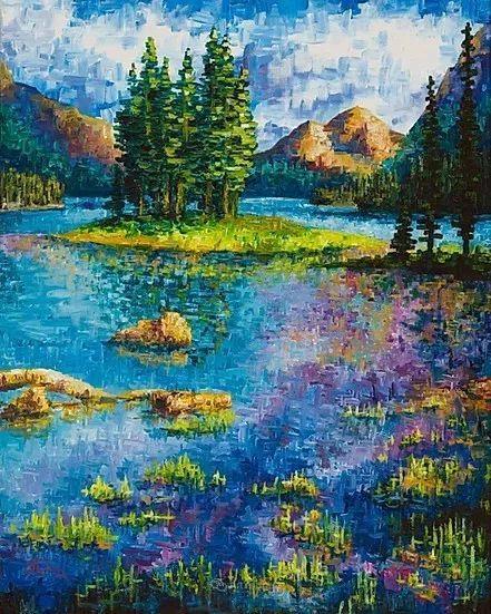 令人沉醉,唯美壮丽印象派风景油画,加拿大画家Joe Reimer插图44