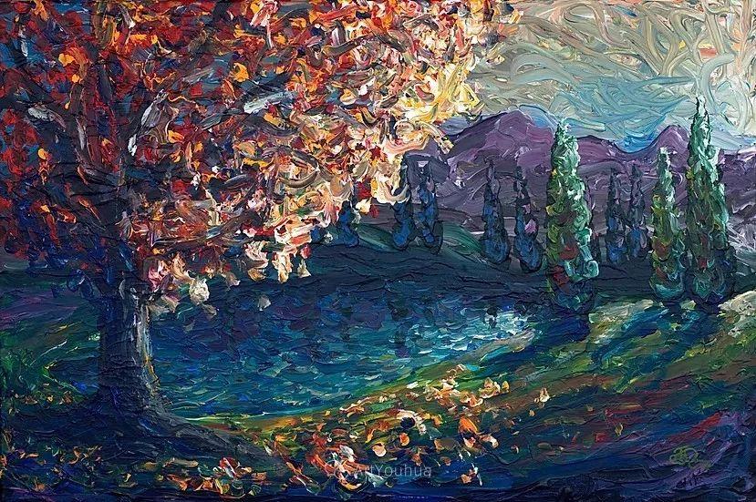 令人沉醉,唯美壮丽印象派风景油画,加拿大画家Joe Reimer插图91