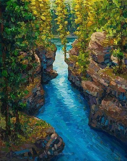 令人沉醉,唯美壮丽印象派风景油画,加拿大画家Joe Reimer插图93