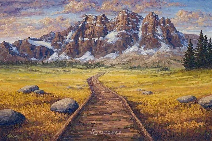 令人沉醉,唯美壮丽印象派风景油画,加拿大画家Joe Reimer插图95