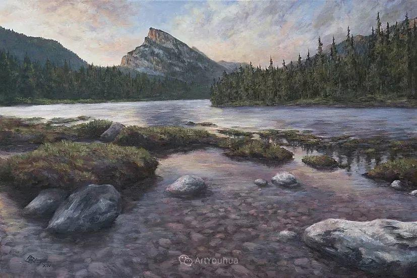 令人沉醉,唯美壮丽印象派风景油画,加拿大画家Joe Reimer插图97