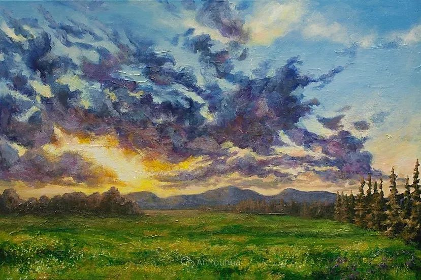 令人沉醉,唯美壮丽印象派风景油画,加拿大画家Joe Reimer插图99