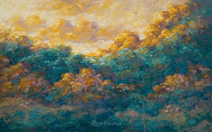 令人沉醉,唯美壮丽印象派风景油画,加拿大画家Joe Reimer插图50