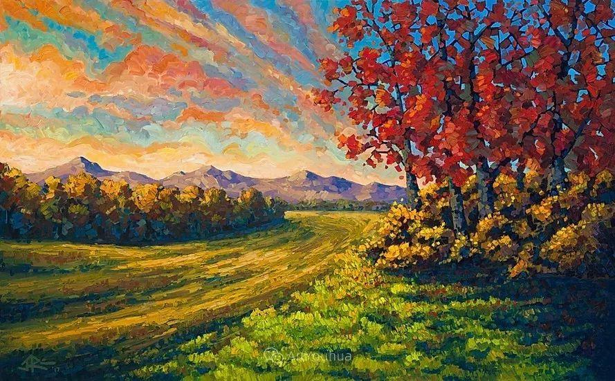 令人沉醉,唯美壮丽印象派风景油画,加拿大画家Joe Reimer插图103