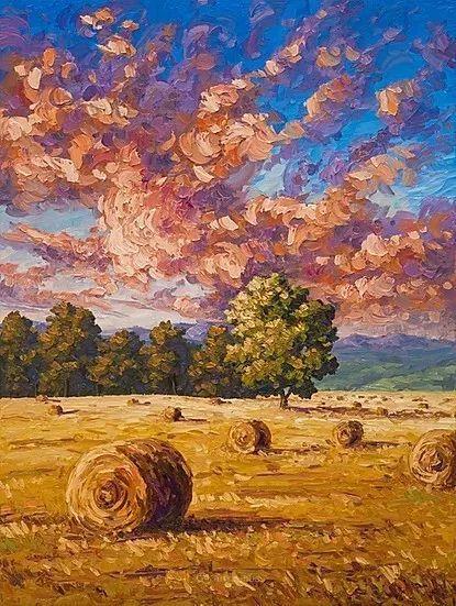 令人沉醉,唯美壮丽印象派风景油画,加拿大画家Joe Reimer插图105