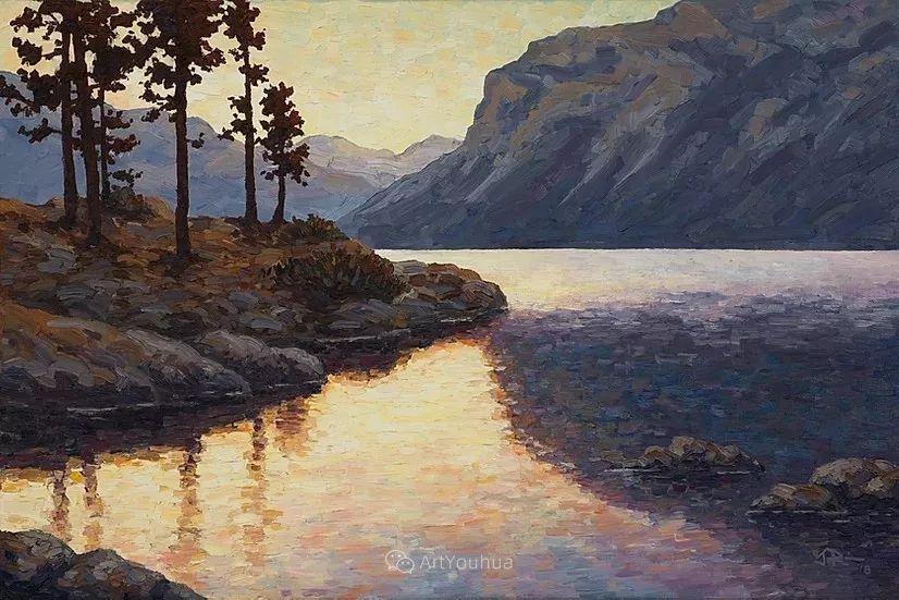 令人沉醉,唯美壮丽印象派风景油画,加拿大画家Joe Reimer插图107