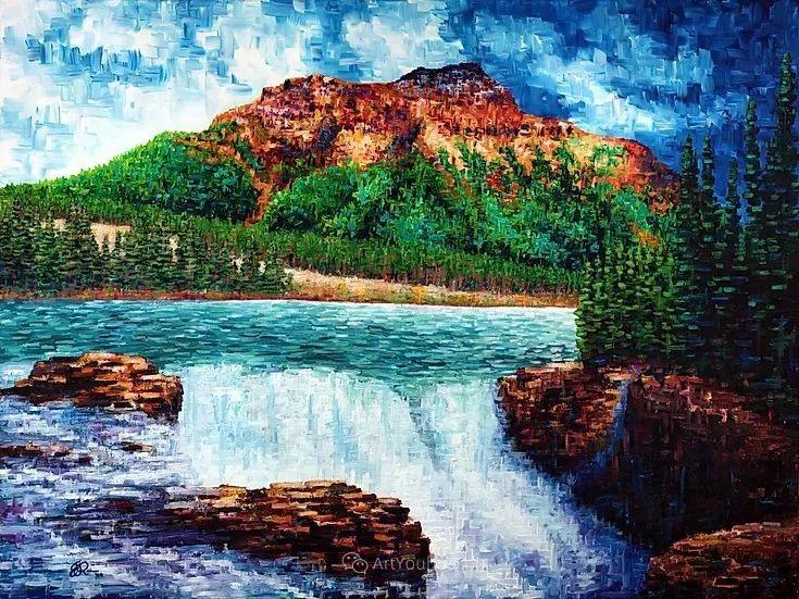 令人沉醉,唯美壮丽印象派风景油画,加拿大画家Joe Reimer插图111
