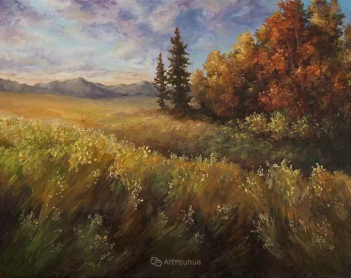 令人沉醉,唯美壮丽印象派风景油画,加拿大画家Joe Reimer插图113