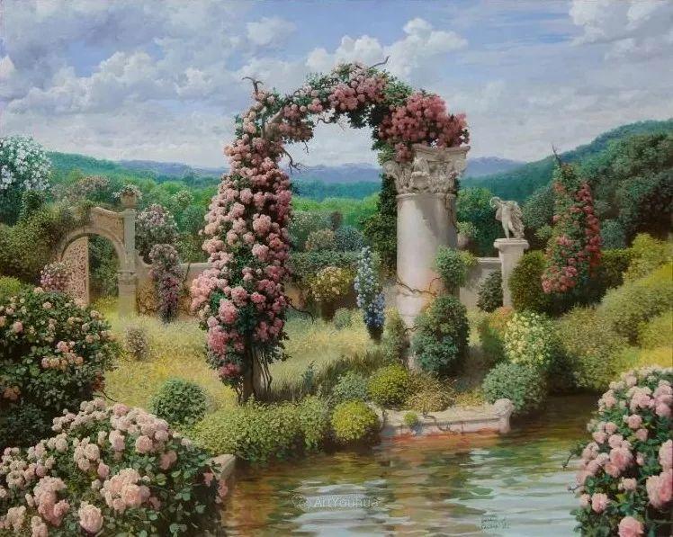 梦幻写实风景,俄罗斯画家亚历山大·赛义多夫作品二插图