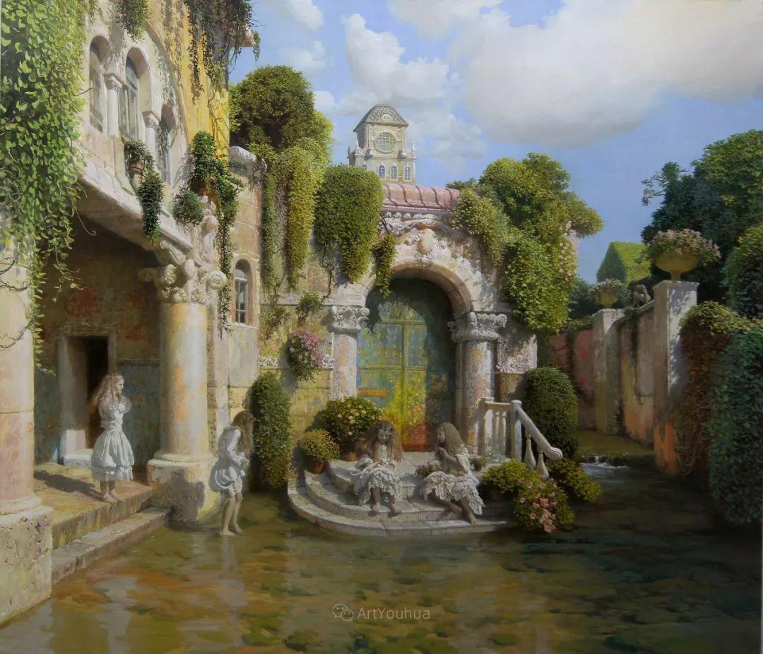 梦幻写实风景,俄罗斯画家亚历山大·赛义多夫作品二插图6
