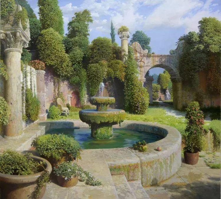 梦幻写实风景,俄罗斯画家亚历山大·赛义多夫作品二插图10