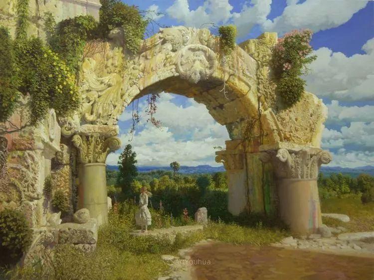 梦幻写实风景,俄罗斯画家亚历山大·赛义多夫作品二插图11