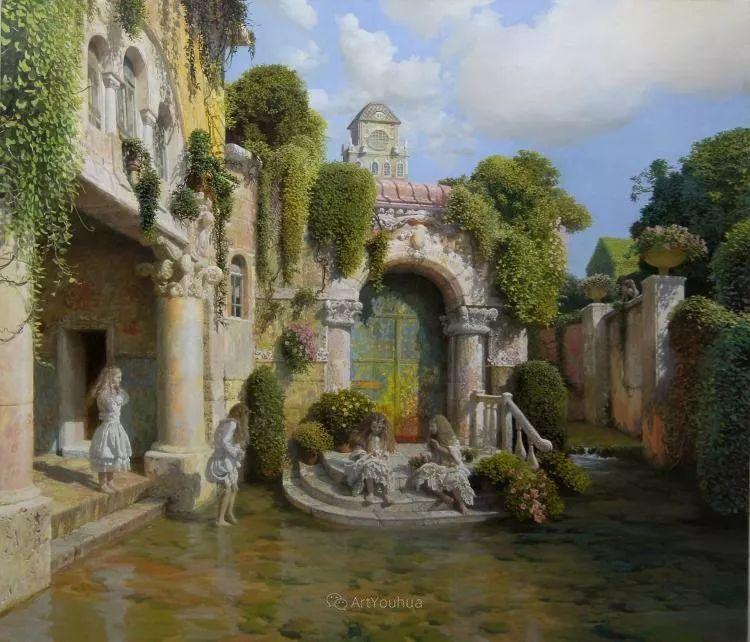 梦幻写实风景,俄罗斯画家亚历山大·赛义多夫作品二插图12