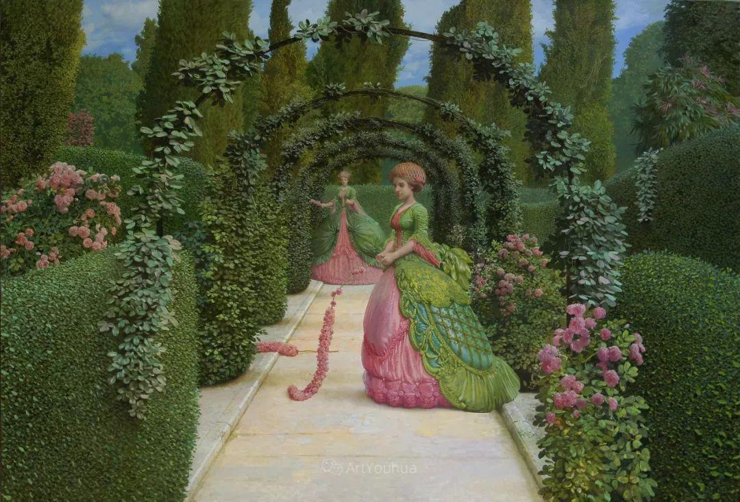 梦幻写实风景,俄罗斯画家亚历山大·赛义多夫作品二插图14