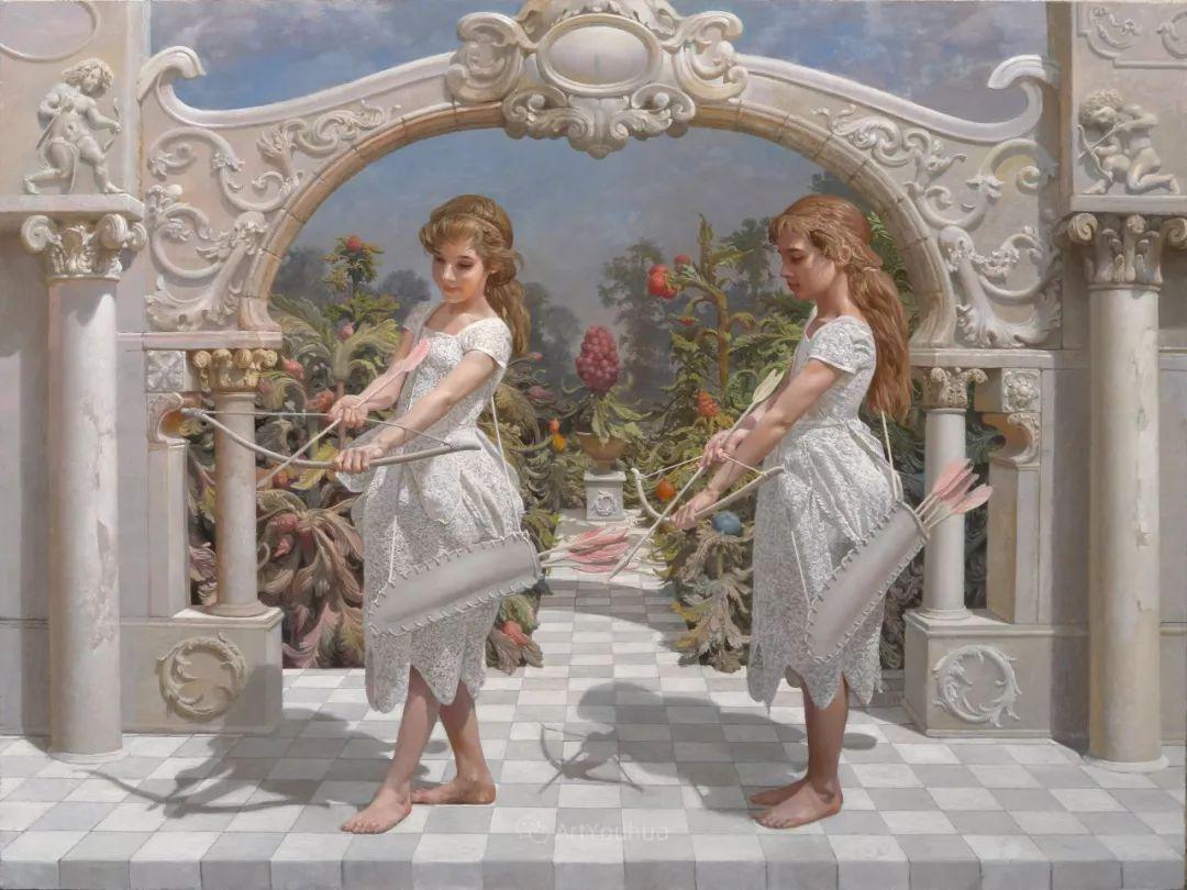 梦幻写实风景,俄罗斯画家亚历山大·赛义多夫作品二插图15