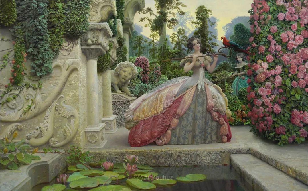 梦幻写实风景,俄罗斯画家亚历山大·赛义多夫作品二插图17