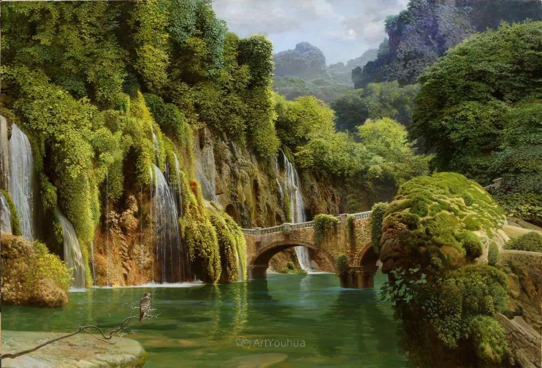 梦幻写实风景,俄罗斯画家亚历山大·赛义多夫作品二插图19
