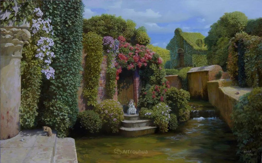 梦幻写实风景,俄罗斯画家亚历山大·赛义多夫作品二插图20