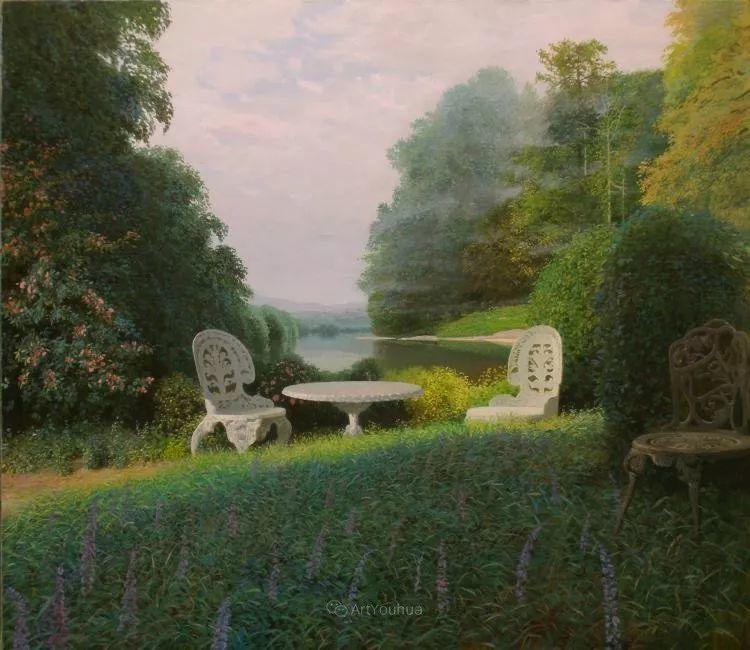梦幻写实风景,俄罗斯画家亚历山大·赛义多夫作品二插图21