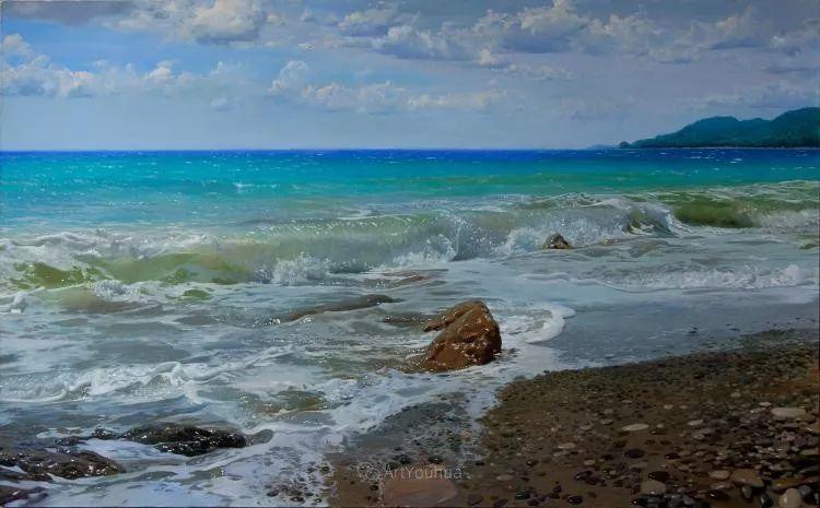 梦幻写实风景,俄罗斯画家亚历山大·赛义多夫作品二插图28