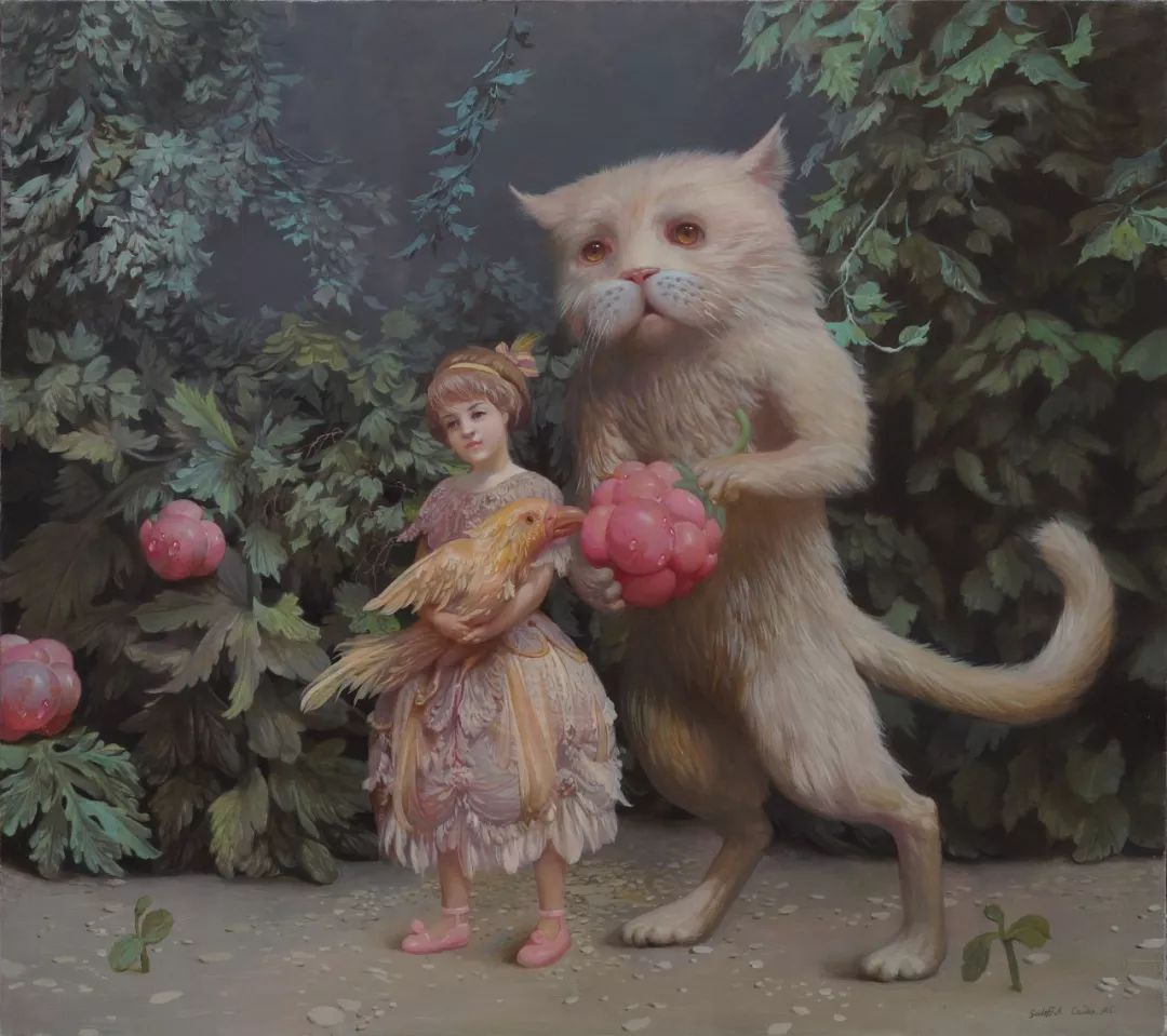 梦幻写实风景,俄罗斯画家亚历山大·赛义多夫作品二插图46