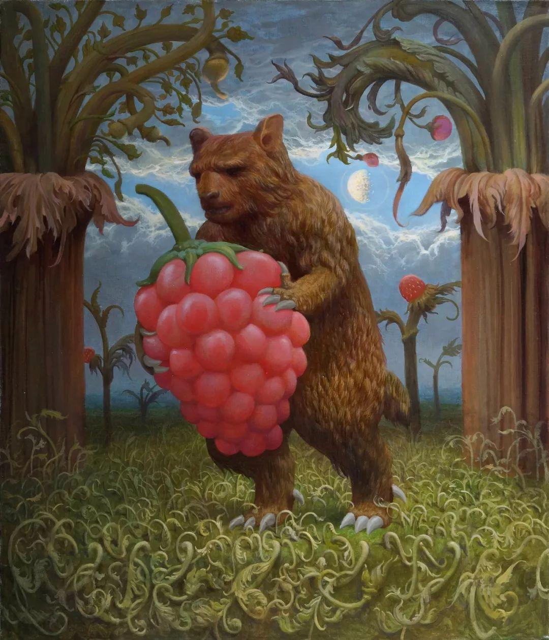 梦幻写实风景,俄罗斯画家亚历山大·赛义多夫作品二插图49