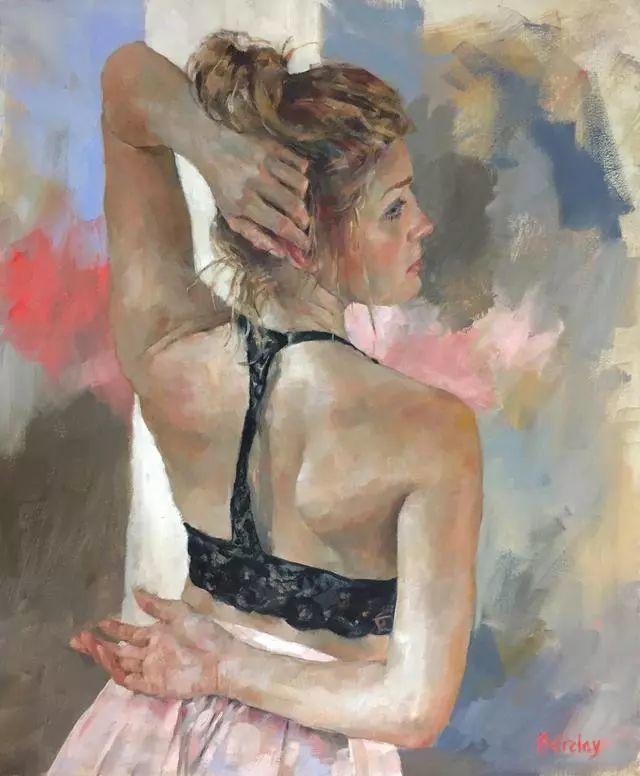 身体张力的展现,英国画家穆里尔·巴克莱插图5