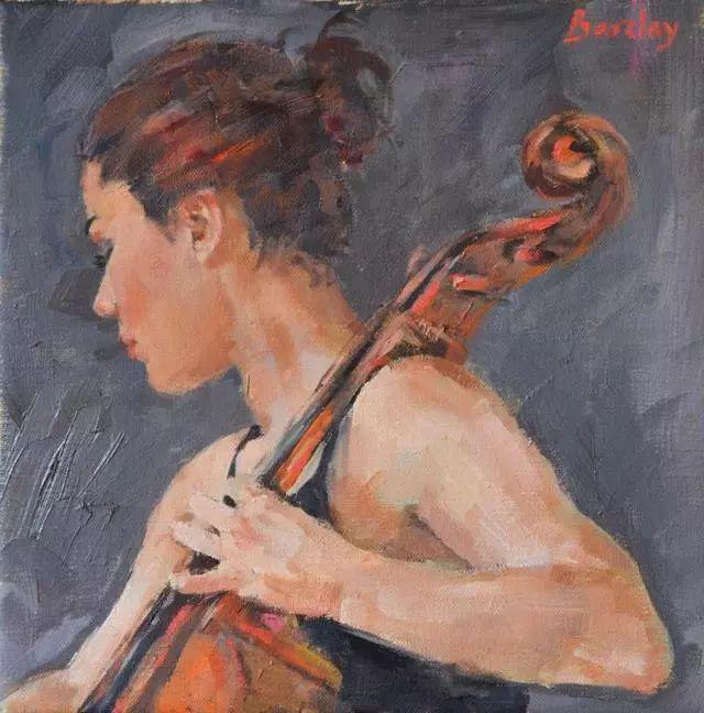 身体张力的展现,英国画家穆里尔·巴克莱插图6