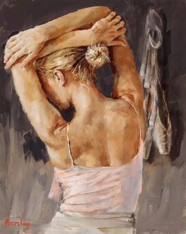 身体张力的展现,英国画家穆里尔·巴克莱插图12