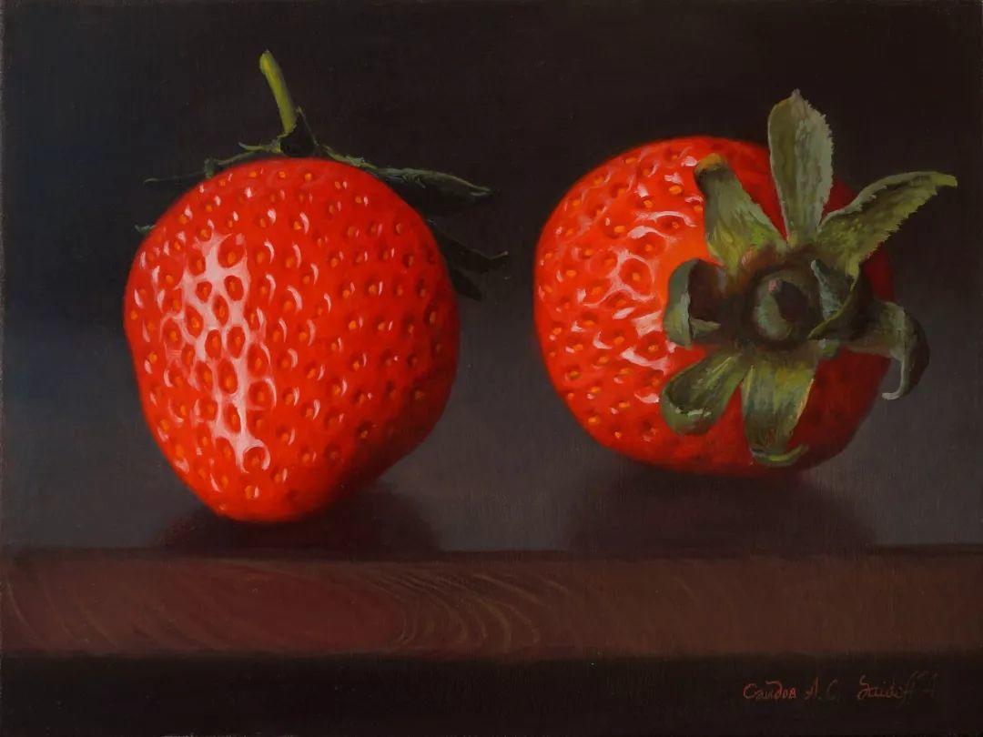 非常丰盛,静物水果!俄罗斯画家亚历山大·赛义多夫作品一插图41