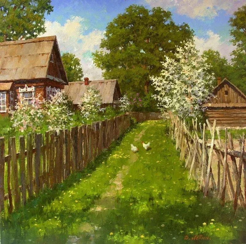 浓郁的生活气息,俄罗斯画家德米特里·莱文作品插图7