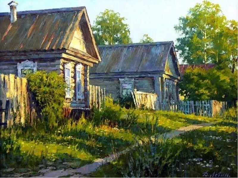 浓郁的生活气息,俄罗斯画家德米特里·莱文作品插图11