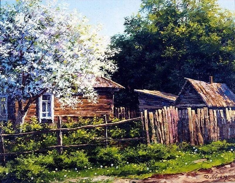 浓郁的生活气息,俄罗斯画家德米特里·莱文作品插图15