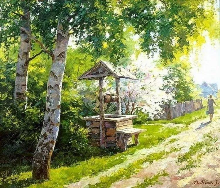 浓郁的生活气息,俄罗斯画家德米特里·莱文作品插图23