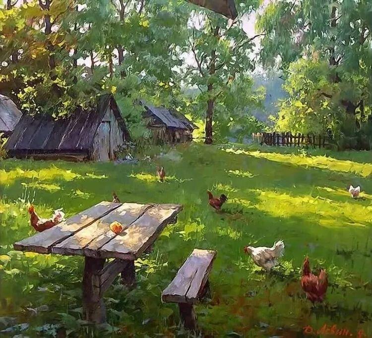 浓郁的生活气息,俄罗斯画家德米特里·莱文作品插图25