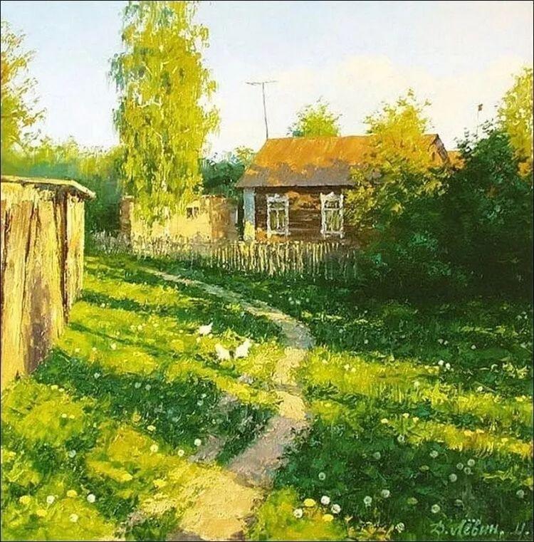 浓郁的生活气息,俄罗斯画家德米特里·莱文作品插图27