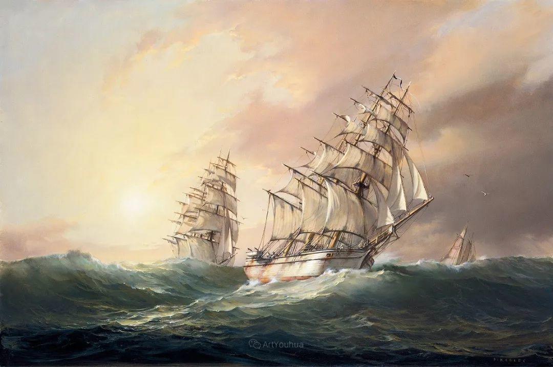 海洋艺术,捷克裔加拿大画家杜尚·卡德莱克插图1