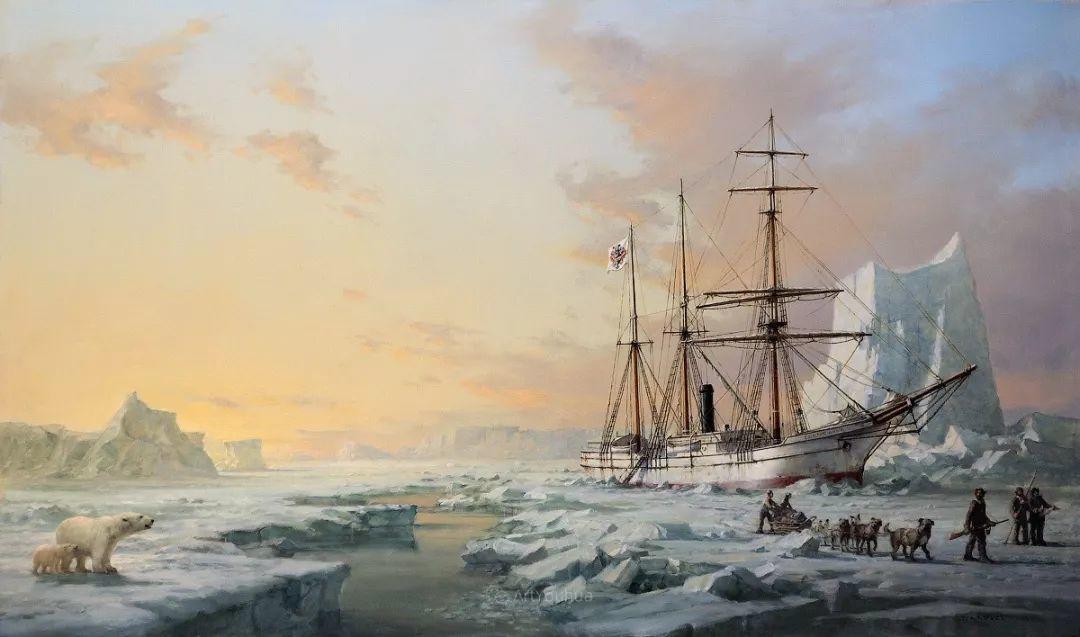 海洋艺术,捷克裔加拿大画家杜尚·卡德莱克插图3