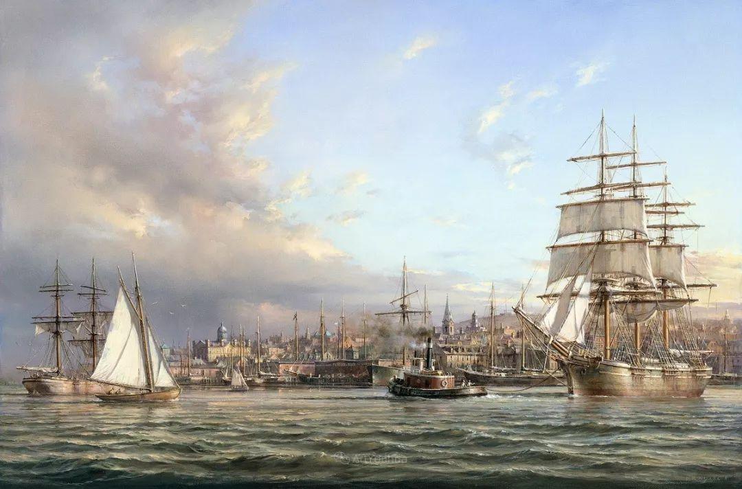 海洋艺术,捷克裔加拿大画家杜尚·卡德莱克插图7